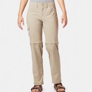 Mountain Hardwear Black Convertible Hiking Pants